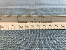 Triangular Ruler Staedtler-Mars 987 19-31 Architect Ruler Plastic Japan