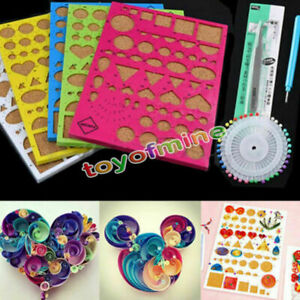 KINHOO Paper Quilling Tool Quilling Comb Plastic Holder Paper Quilling Accessory For Diy Paper Artwork