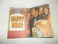 HAPPY HOUR BAR GUIDE SOUTHERN COMFORT 45 great drink recipes 1970
