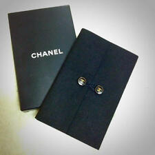 CHANEL  Small Pocketsize Notebook Note Pad Black in Original Box! Authentic!