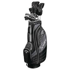 CALLAWAY 2018 LADIES SOLAIRE GOLF PACKAGE BLACK/GREY- NEW!