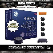 M-Tech Einparkhilfe Rückfahrwarner PDC mit Lautsprecher schwarz
