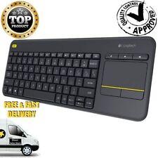 Wireless Touch Logitech Keyboard K400 Touchpad Smart TV Internet USB Mobile WiFi