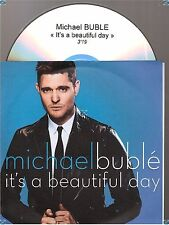 MICHAEL BUBLE IT'S A BEAUTIFUL DAY france french CD PROMO papersleeve