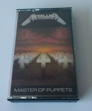 Metallica Master of Puppets [Cassette Tape 1986]