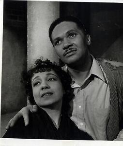 TOOD DUNCAN, ETTA MOTTEN / PORGY AND BESS (1942) Vintage original 8x10 photo
