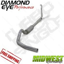 "Diamond Eye 4"" Turbo Back Off Road Exhaust 94-97 Ford F250 F350 7.3L Powerstroke"