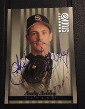 ANDY ASHBY 1997 DONRUSS STUDIO AUTOGRAPHED SIGNED AUTO BASEBALL CARD 137 PADRES