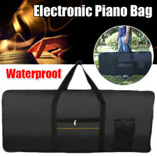 Lightweight Keyboard Bag Waterproof Case for 61-key Keyboards Electric Pianos Us