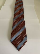 Ermenegildo Zegna Mens Tie - Made In Italy - 100% Silk