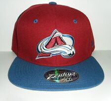 Colorado Avalanche Authentic Stretch Fit Cap Size Extra Large XL Burgundy