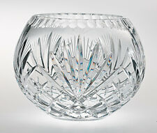 Majestic Crystal Rose Bowl 5 Inch With Free Market III Blue Candle Sample