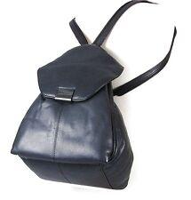 bruno banani Women Bag Shoulder Bag Backpack Black soft Leather New