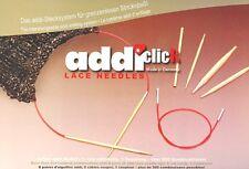 addi-Click Lace Etui addi-Stecksystem Feinstricknadeln