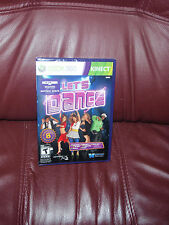 LETS DANCE XBOX 360 KINECT(KINECT SENSOR REQUIRED TO PLAY) BRAND NEW NTSC-N