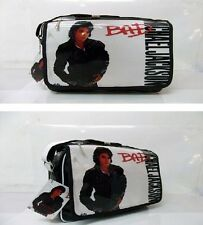 Michael Jackson BAD PVC notebook BAG & Shoulder Messenger BAG