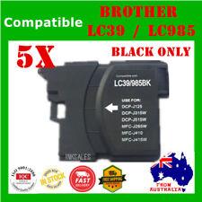 5 Ink Cartridge Black LC985 LC39 For Brother DCP J515W MFC J220 J265W J410 J415W