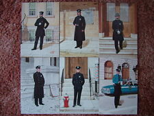6 Card Set No 19 Postcards NEW YORK CITY POLICE DEPARTMENT. Mint condition.
