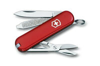 Victorinox Swiss Army Multi-Tool Classic SD Red 58mm Tube Pocket Knife 58001 NEW