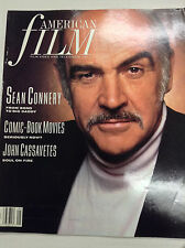 American Film Magazine Sean Connery John Cassanettes May 1989 040917nonrh