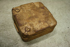 WW2 German Original Tellermine 42 Mine Box Case Wehrmacht Dated 1942 Tan Afrika