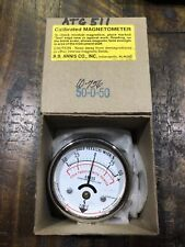 R.B Annis Co. Gauss Magnetometer 50-0-50
