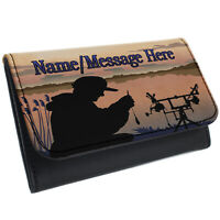 Fishing Tobacco Pouch Rolling Baccy Wallet Smoking Personalised Gift ST156