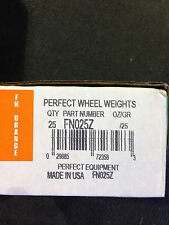 WHEEL TIRE PERFECT CLIP ON ZINC COATED FN025Z GRAMS WHEEL  WEIGHTS
