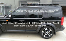 Steel Platform  Flat Roof Rack 2200X1250mm 4 Land Rover Discovery 3 Discovery 4