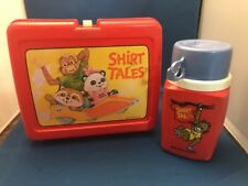 Vintage 1981 Shirt Tales Lunch Box / Thermos Division King Seeley Brand