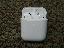 New listing Brand-New Genuine Apple AirPods 2nd Generation with Wireless Charging Case