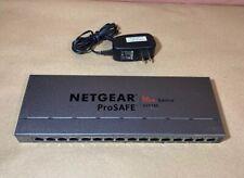 Netgear ProSafe Plus Switch 16-Port Gigabit Switch GS116Ev2. #LL06