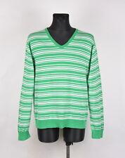 Tommy Hilfiger V-Neck Men Cotton Sweater Size 2XL, Genuine