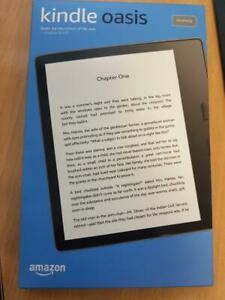 Amazon Kindle Oasis 10th Generation 8GB WiFi Waterproof - Graphite - Brand New