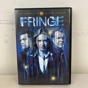 Fringe Season 4 DVD Region 1 6-Discs VGC + Free Postage