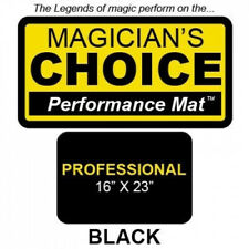 Professional Close-Up Mat (BLACK - 16x23) by Ronjo - Trick. Ronjo Magic