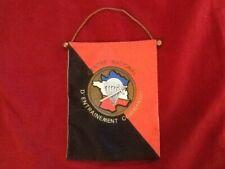 FANION MILITAIRE  - CENTRE NATIONAL ENTRAINEMENT COMMANDO - CEC - 26 X 20 CM