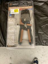 Southwire RJCR-T1K Ratcheting Phone & Data Crimp Tool NIB