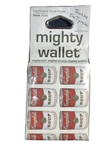 2010 Mighty Wallet Dynomighty Design Campbell's Soup Can Wallet