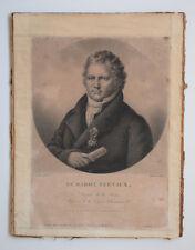 Lefebvre GRAVURE BARON TERNAUX Renard Sedan ARDENNES 1830