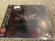 LORD OF VERMILION II 2 MUSIC JAPAN SCORE OST CD ANIME GAME SOUNDTRACK