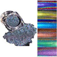 37Colors Nail Sequins Glitter Powder Mirror Dust Nail Art Pigment Manicure
