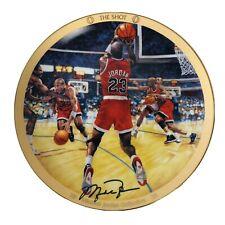 Vintage 1997 Upper Deck Michael Jordan THE LAST SHOT Collector Plate w/ COA