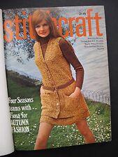 STITCHCRAFT November 1968 – October 1969 - Bound Annual volume