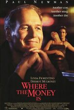 Where the Money Is Original Movie Poster Double Sided DS 27x40 New Mint Conditio