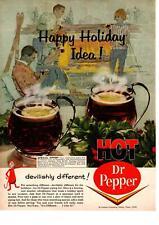 1964 Hot Dr. Pepper Recipe Dallas Texas Devilishly Different! Christmas Print Ad