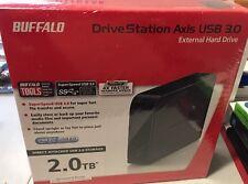 Buffalo DriveStation Axis 2 TB USB 3.0 Desktop Hard Drive - HD-LB2.0TU3
