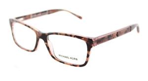 Michael Kors MK4043 3251 Havana Eyeglasses Optical Frame RX 51-15-135