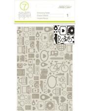 Studio Calico AMELIA 4x6 Embossing Folder A2 Seven Paper Travel Vacation City