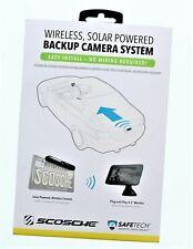 Scosche Wireless Solar Powered Backup Camera System WBUSSPF43